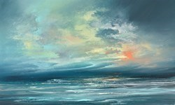 The Sky After the Storm V by Philip Raskin -  sized 30x18 inches. Available from Whitewall Galleries